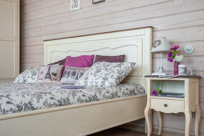 Кровать из массива дерева 120х200