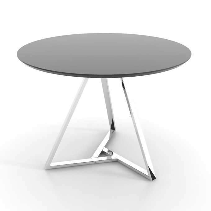 Обеденный стол Voca Triad на основании из нержавеющей стали