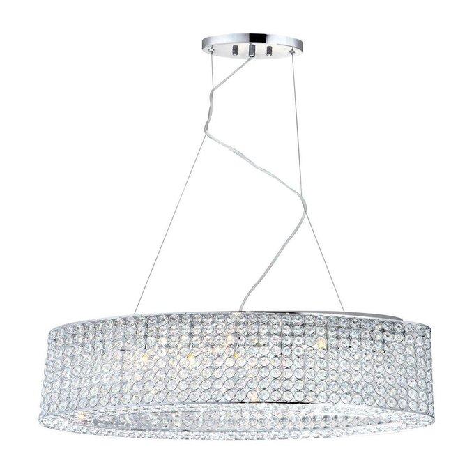 Подвесной светильник Emilia из хрусталя