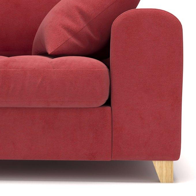 Диван-кровать Vittorio MT трехместный long красного цвета