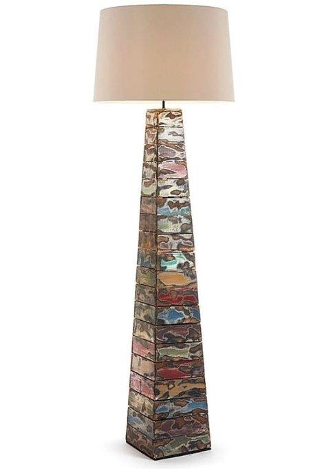 Светильник древесный Julia Grup Boogy с белым абажуром