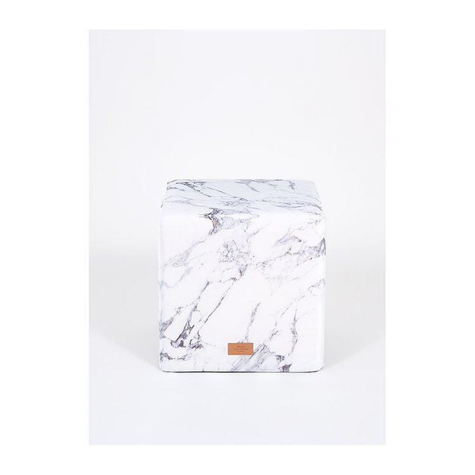 Пуф White Marble