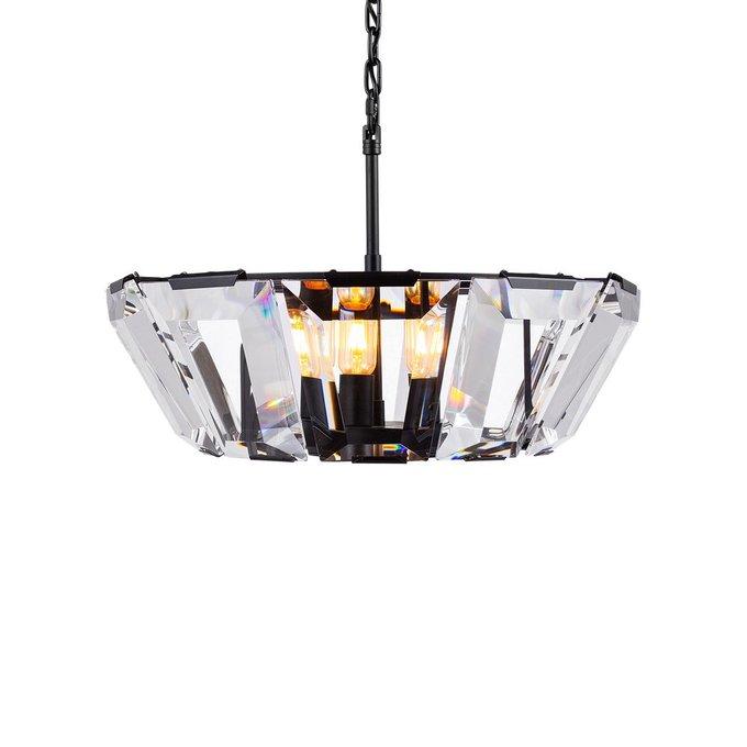 Люстра Harlow Crystal Angle с хрустальными элементами