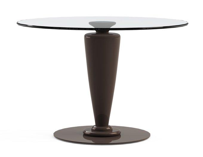 """Обеденный стол """"ABREGO Choco"""" со столешницей из закаленного стекла"""
