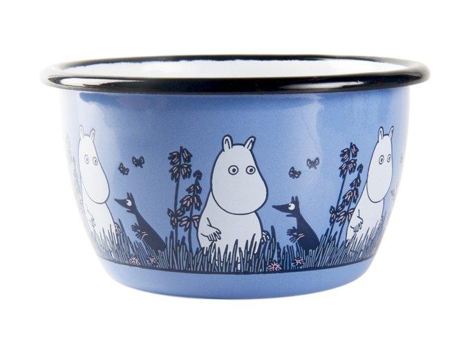 Пиала Moomin Friends из стали голубого цвета