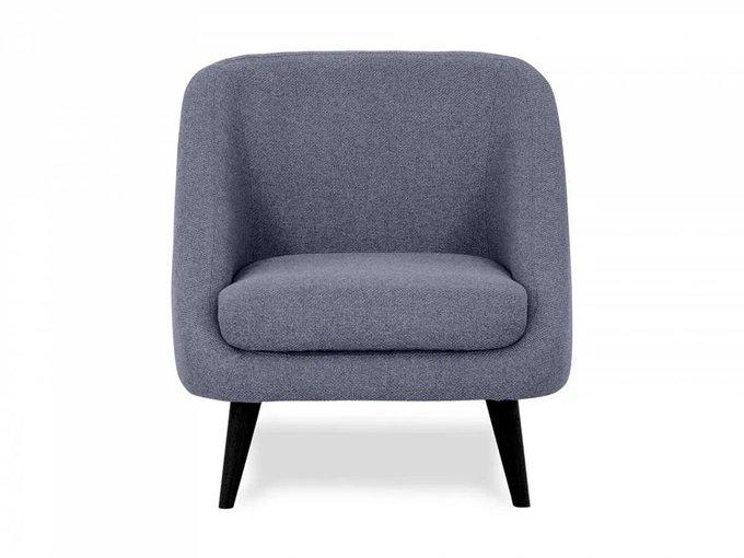 Кресло Corsica серо-синего цвета