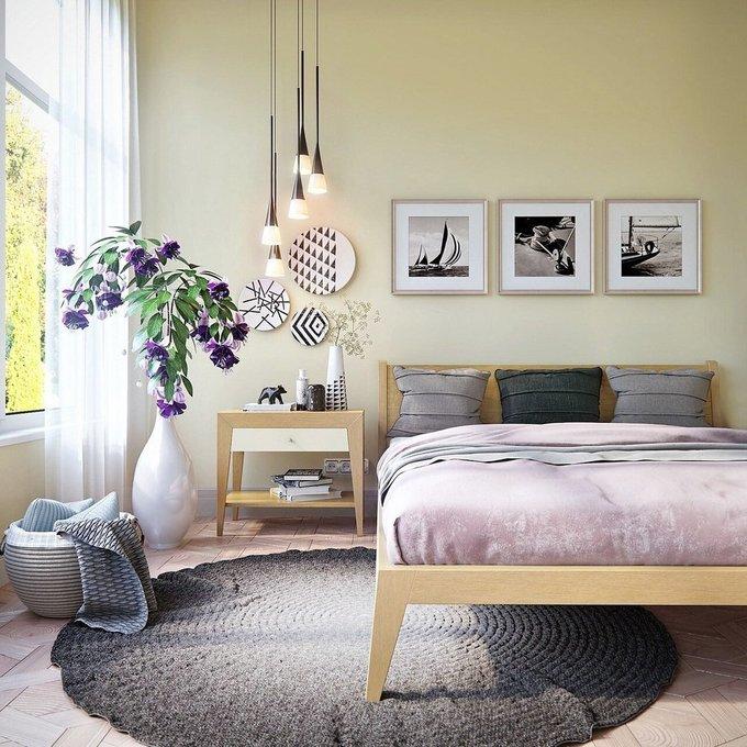 Кровать Fly дуб 200х200