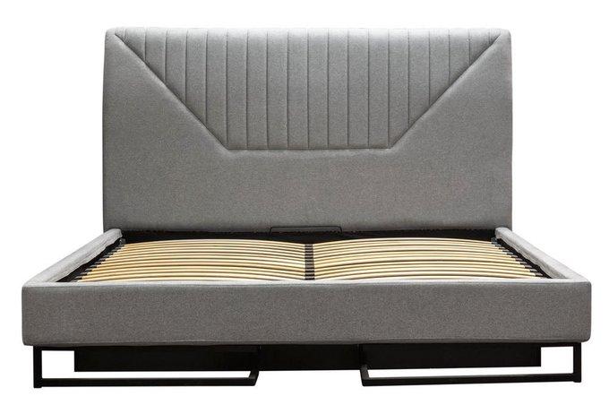 Кровать Loft Alberta Стоун 160х200 с подъемным механизмом