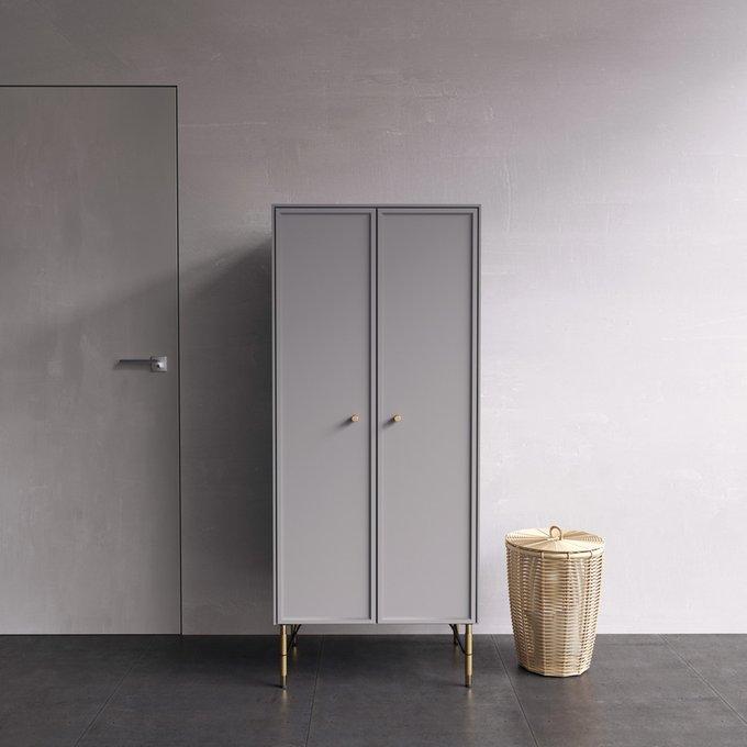 Шкаф Moon светло-серого цвета