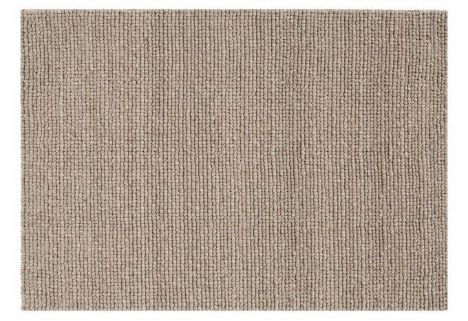 Ковер Hoot серо-коричневого цвета 300х400