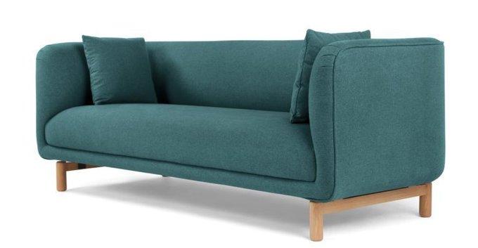 Трехместный диван Tribeca бирюзовый