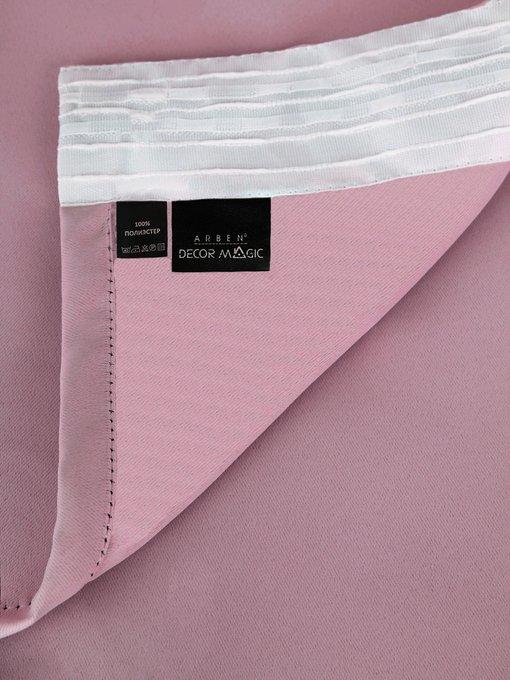 Штора Блэкаут Rose 170х270 розового цвета