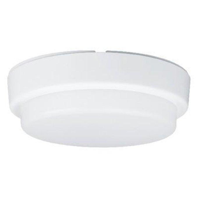 Потолочный светодиодный светильник Сауна белого цвета