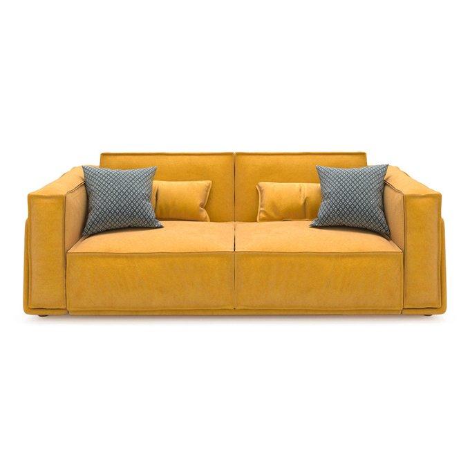 Диван-кровать Vento light long двухместный желтого цвета