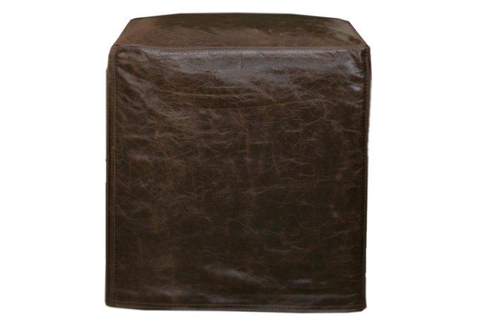 Пуф коричневого цвета