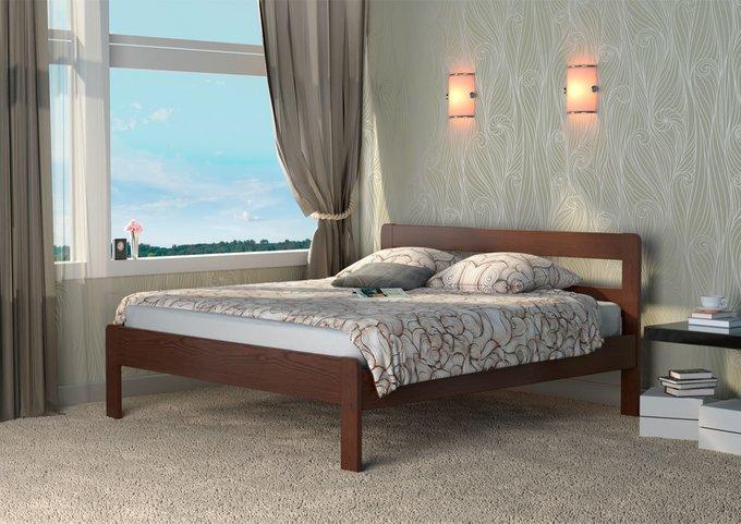 Кровать Кредо 1 из массива тополя-натуральный 80х180
