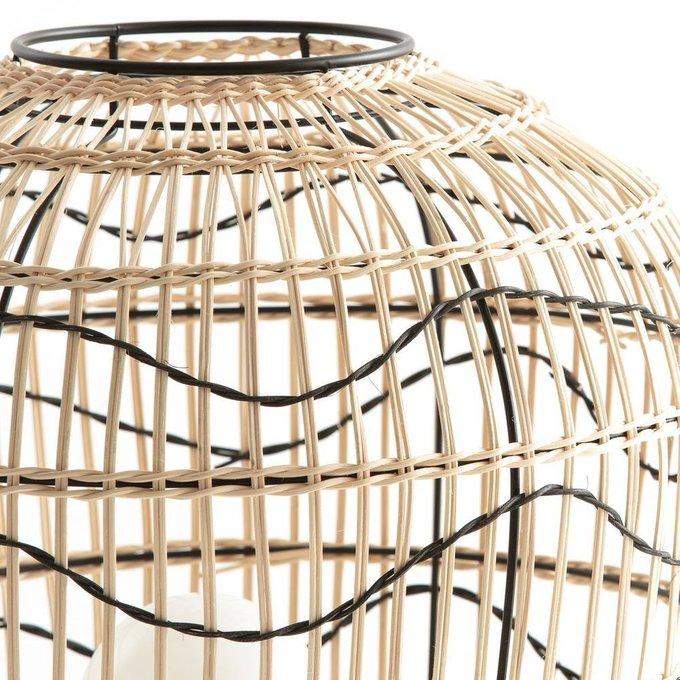 Настольная лампа Martaban бежевого цвета