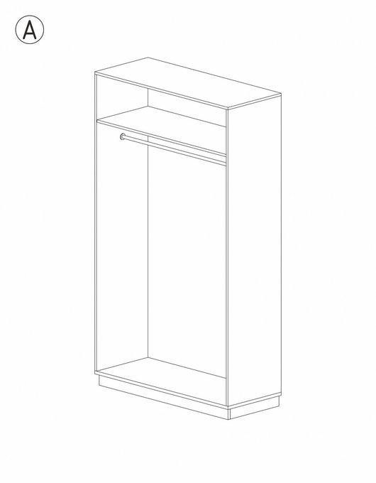 Шкаф Olbio белого цвета