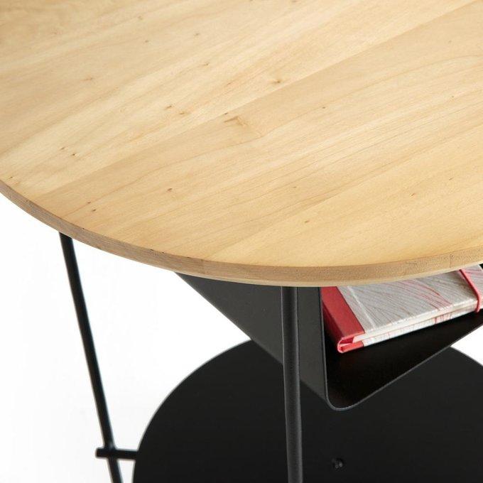 Прикроватный столик Bangor из металла и дерева