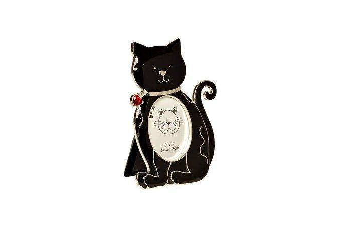 "Фоторамка ""Кошка"" черная"
