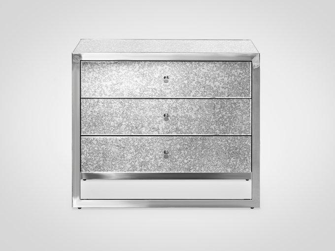 Комод в металлической раме с тремя ящиками