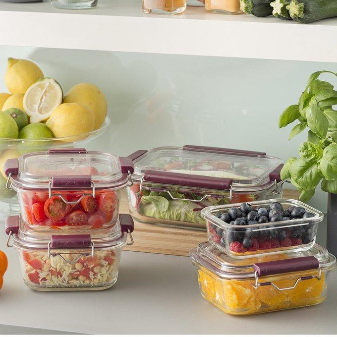 Контейнер для хранения Fresh из стекла