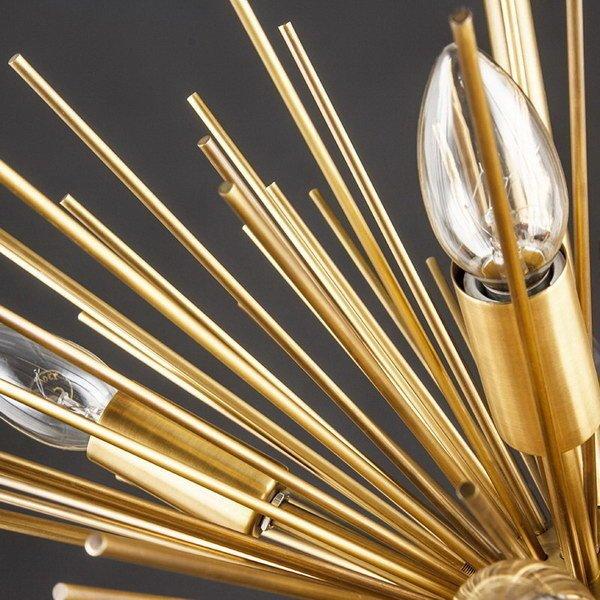Люстра Sputnik gold
