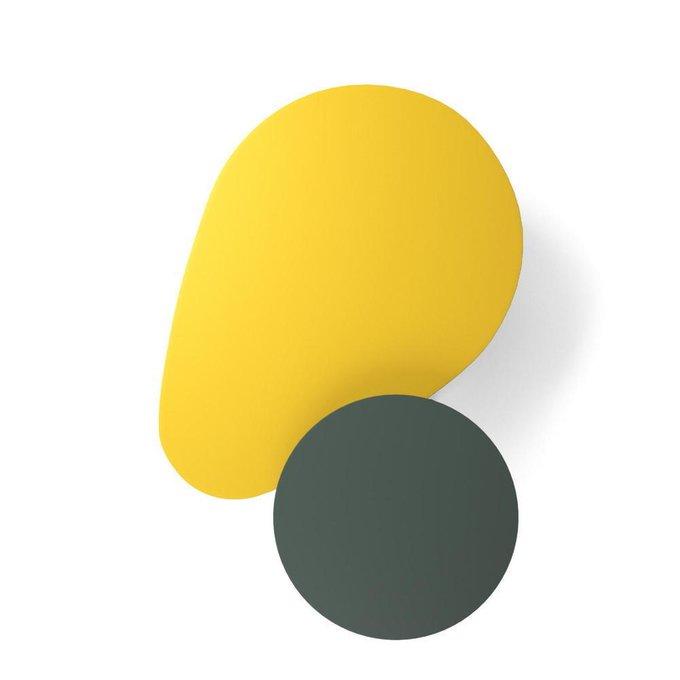 Комплект журнальных столов Scale серо-желтый