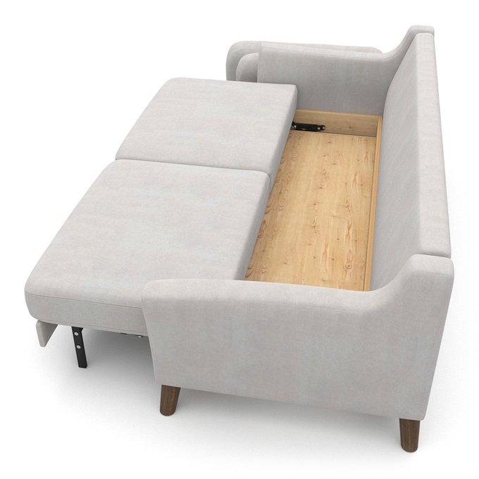 Диван-кровать Raf EKH трехместный светло-серый
