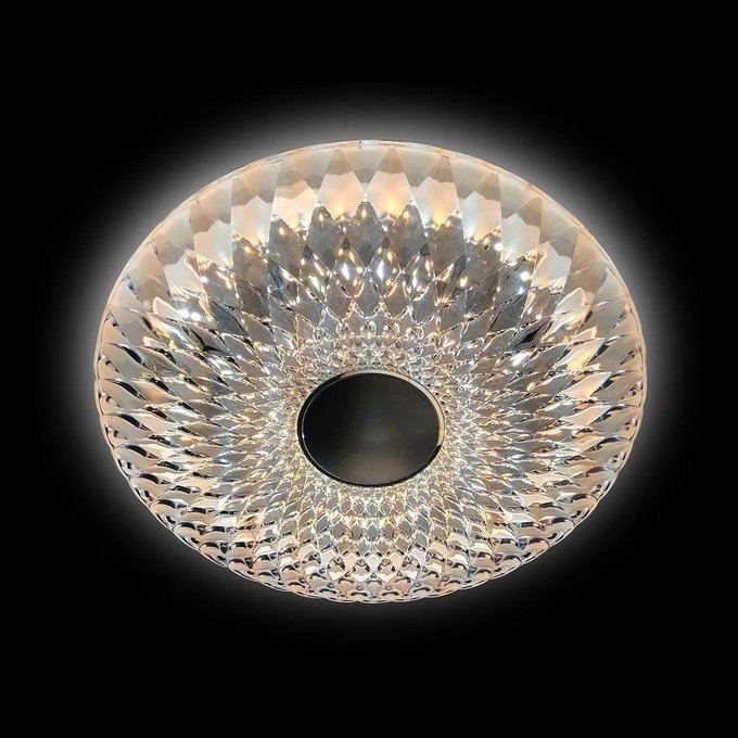 Потолочный светодиодный светильник Orbital Crystal Sand