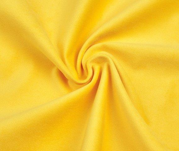 Мягкая зона Cosmo правый серо-желтого цвета