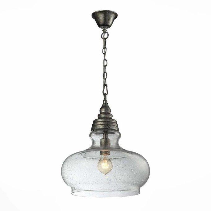 Подвесной светильник ST Luce с плафоном из стекла