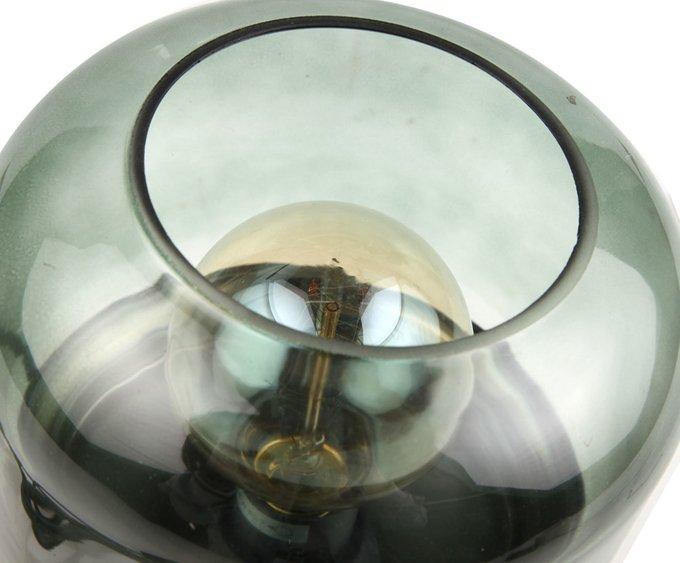 Ночник круглый из металла и стекла