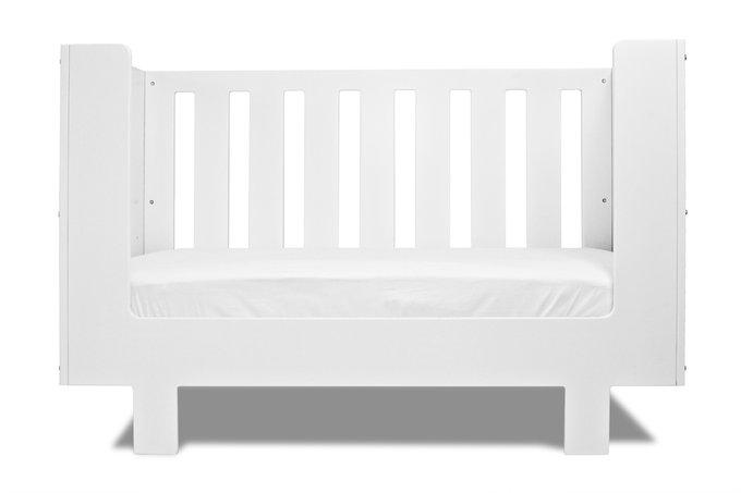 кроватка Eicho белая Spot On Square