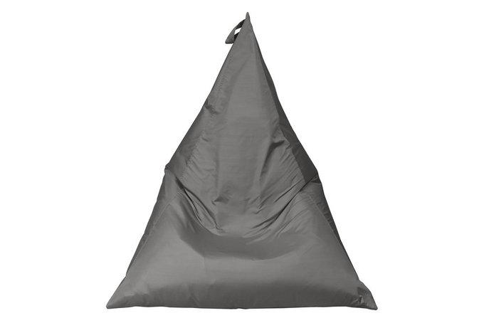 Пуф-пирамида серая