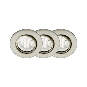 Комплект из 3 встраиваемых светильников Econ