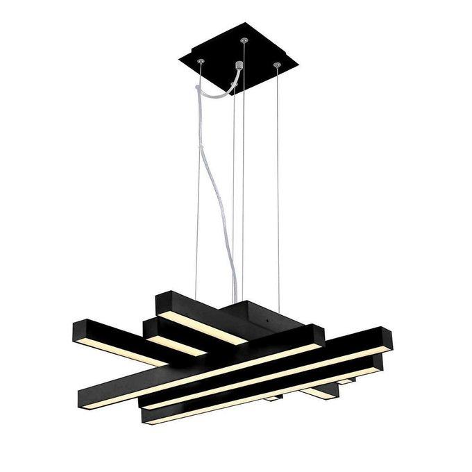 Подвесной светодиодный светильник Asfor черного цвета