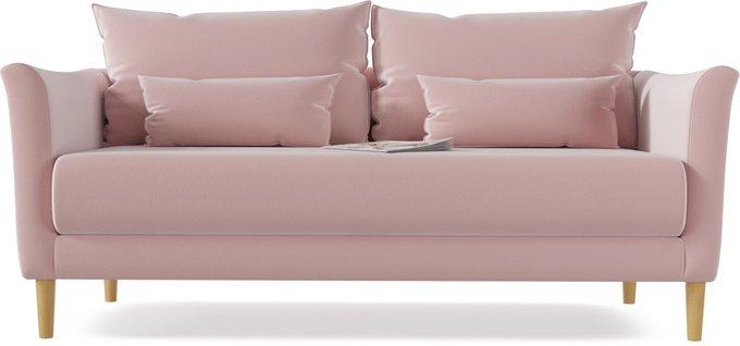 Диван прямой Катрин Flamingo розового цвета