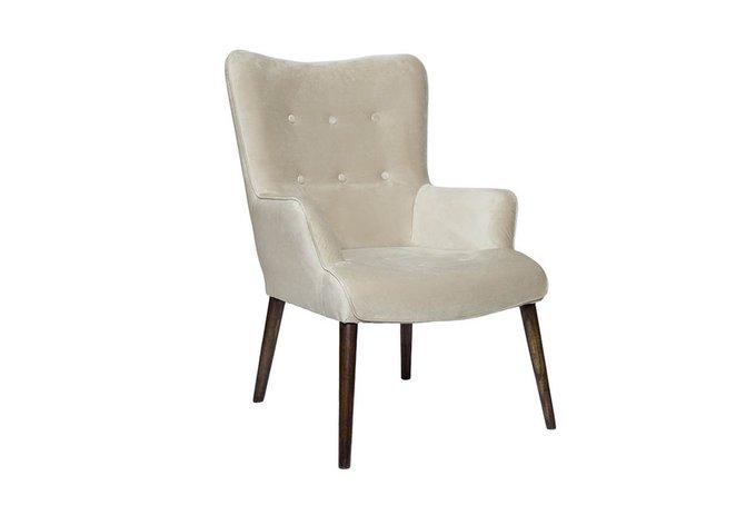 Кресло бежевого цвета