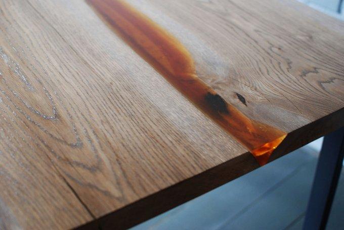 Обеденный стол Liveedge Oak из массива дуба