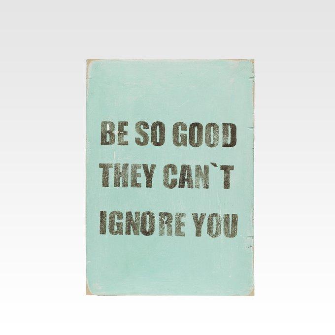 Панно Be good