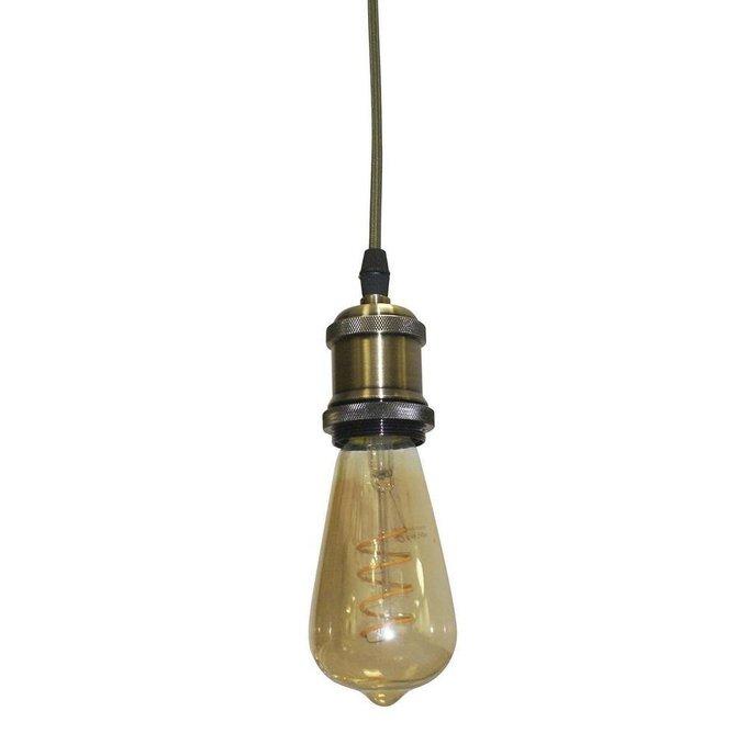 Подвесной светильник из металла