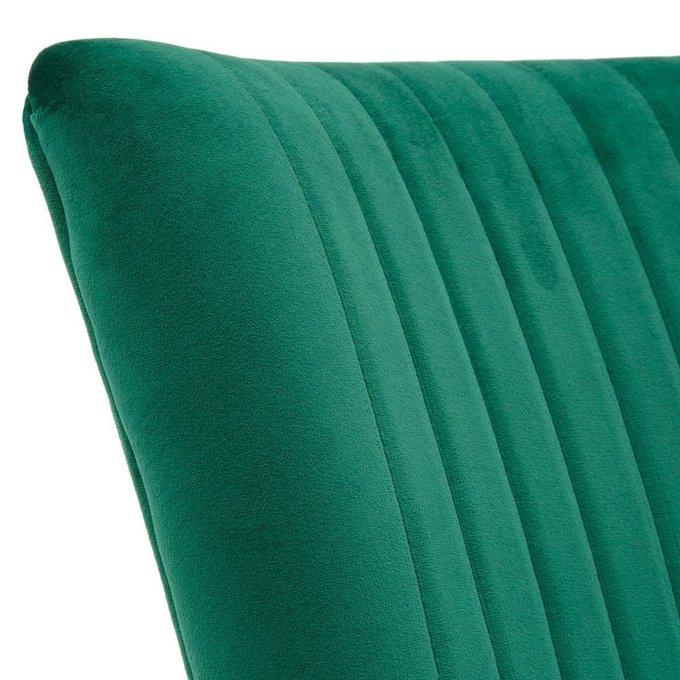 Комплект из двух стульев Ronda темно-зеленого цвета