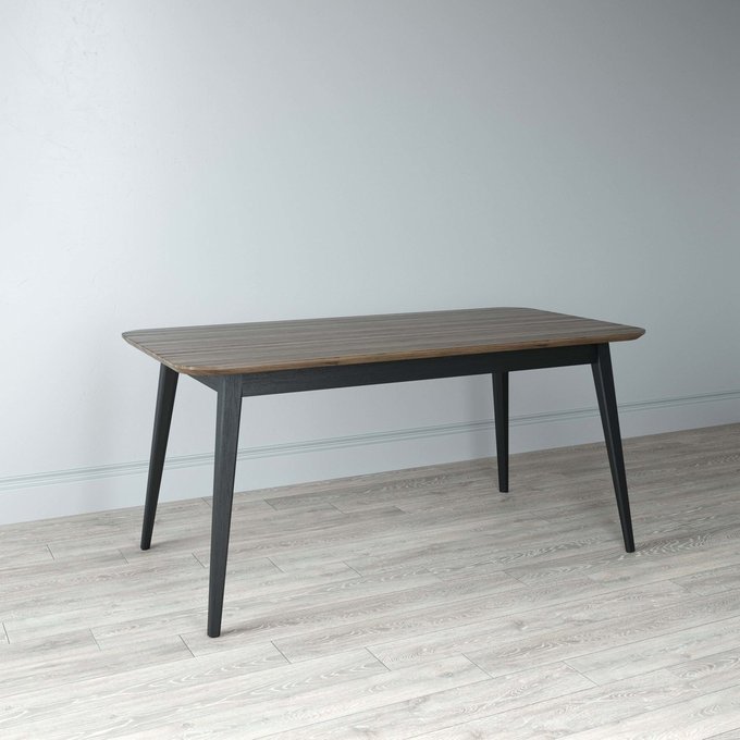 Стол обеденный Deus 120х75 черного цвета