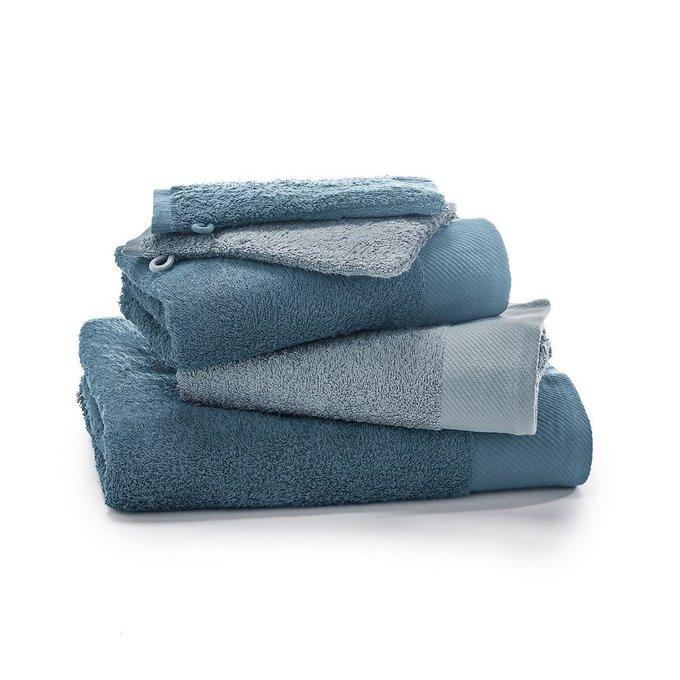 Комплект из пяти банных принадлежностей Scenario сине-серого цвета