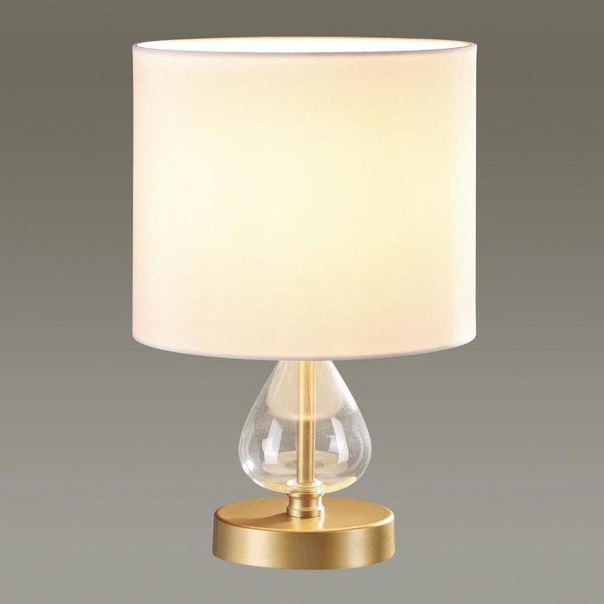 Настольная лампа Giada с белым абажуром