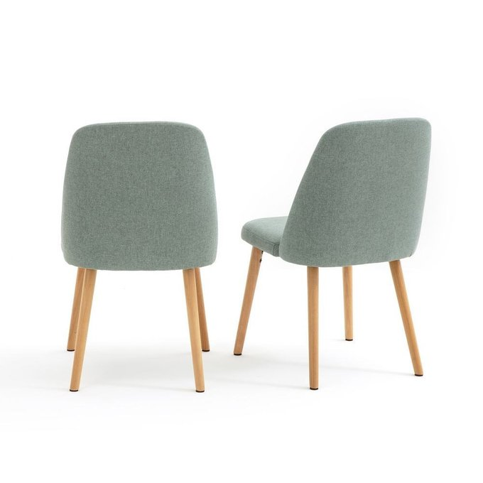 Комплект из двух стульев Jimi мятного цвета