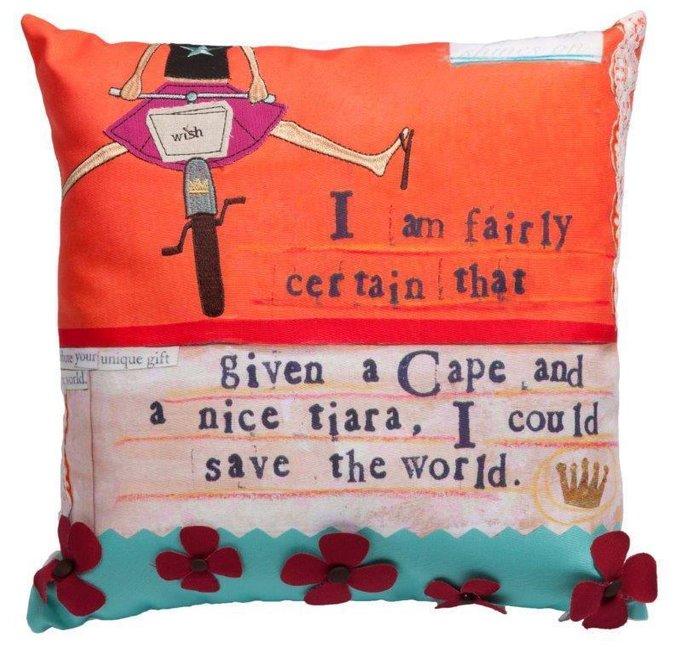 Подушка с принтом Traffico