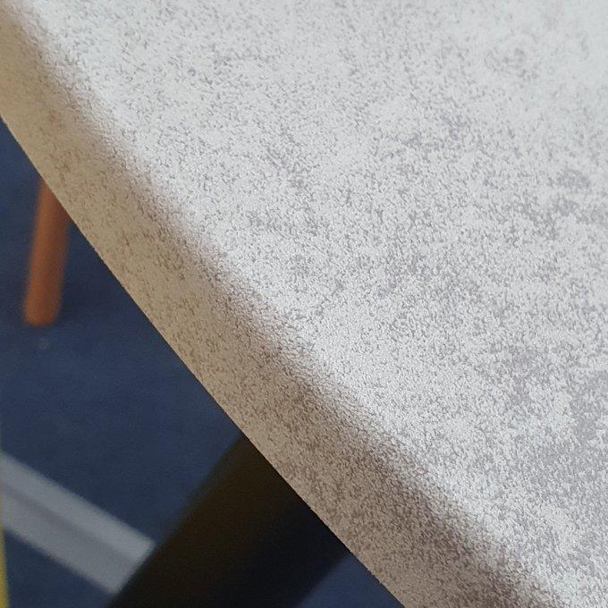 Стол обеденный Martino со столешницей цвета светлый бетон