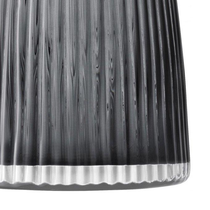 Ваза Pleat серого цвета